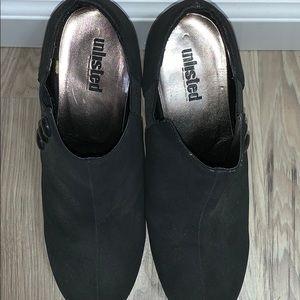 Black 3.5inch booties